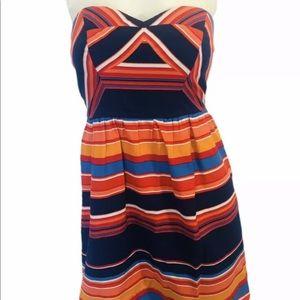 Shoshanna size 4 strapless dress